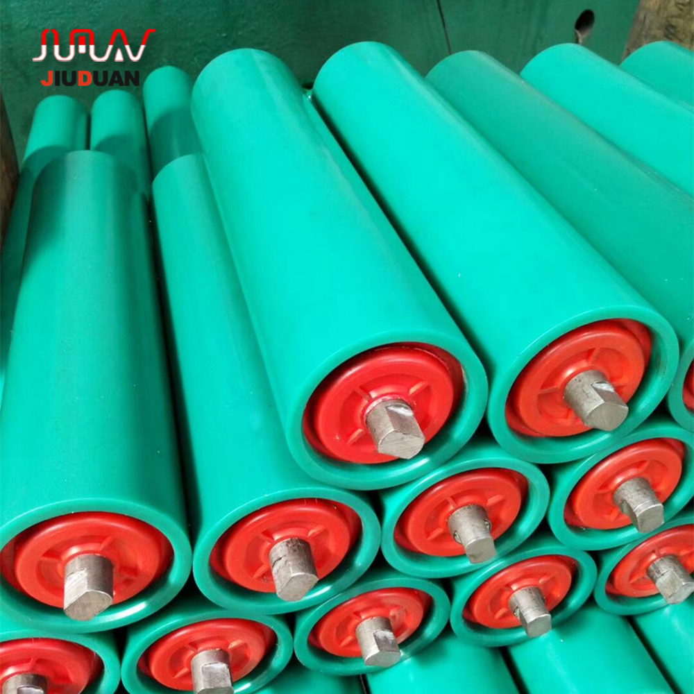 China factory produce HDPE small conveyor belt roller for belt conveyor