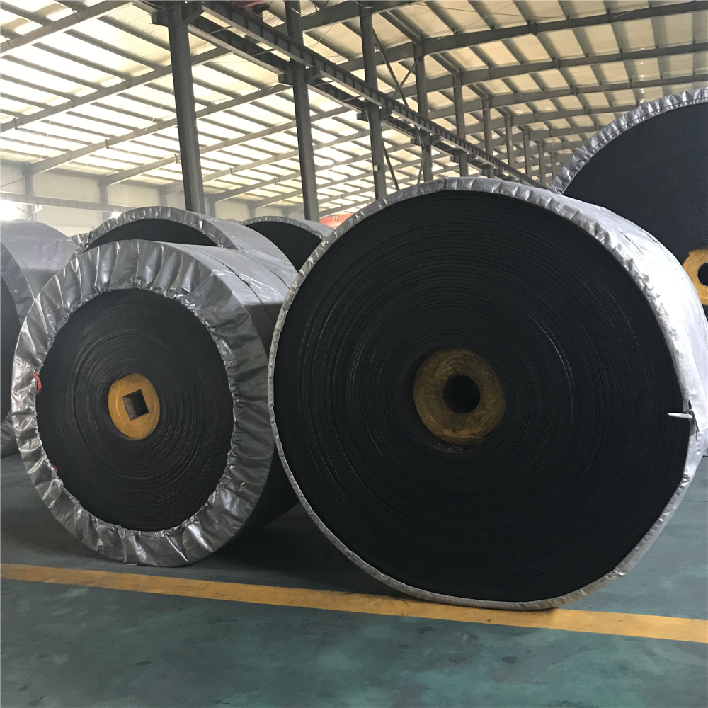 Cotton (CC); Nylon (NN); Polyester (EP) material of core Conveyor belt and rubber Conveyor Belting